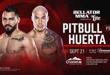 Roger Huerta vervangt Goiti Yamauchi tegen Patricky Freire tijdens Bellator 205