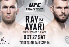 Stevie Ray keert terug tegen Jessin Ayari tijdens UFC Moncton