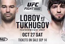 Lang verwacht gevecht Zubaira Tukhugov vs. Artem Lobov tijdens UFC Moncton
