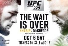 Dit kost een kaartje voor UFC 229: Khabib vs. McGregor