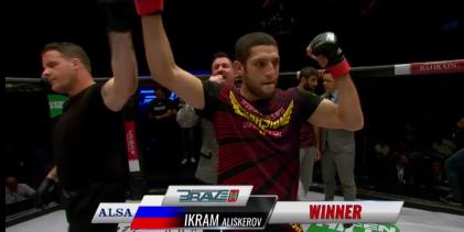 Brave 14 wedstrijdverslag: Joey Berkenbosch komt tekort tegen Ikram Aliskerov