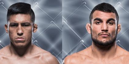 Enrique Barzola vs. Nad Narimani eerste bekende gevecht voor UFC Buenos Aires