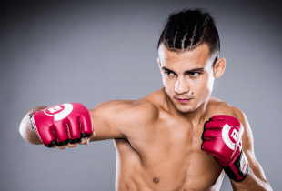 Ongeslagen Adam Borics treft Josenaldo Silva tijdens Bellator 205 in Boise