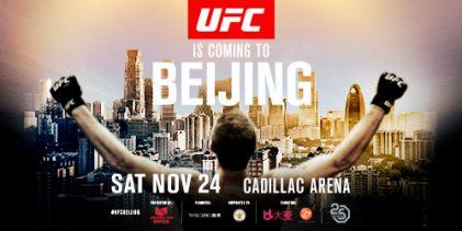 Welterweight spektakel: Elizeu Zaleski dos Santos vs. Li Jingliang tijdens UFC Beijing