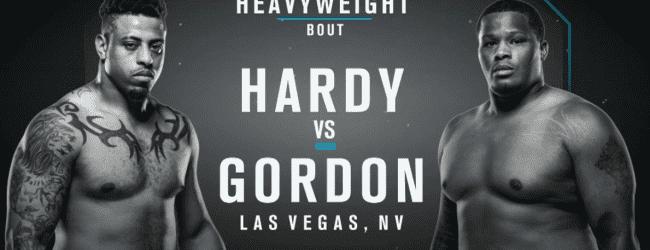 Uitslagen : DWTNCS Seizoen 2 – Week 8 : Hardy vs. Gordon