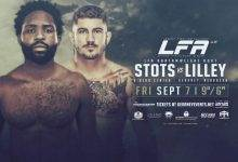 Raufeon Stots vs. Ryan Lilley is het Main Event van LFA 48 in Kearney, Nebraska