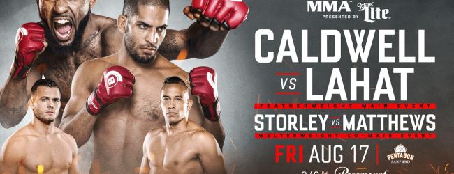 Uitslagen : Bellator 204 : Caldwell vs. Lahat