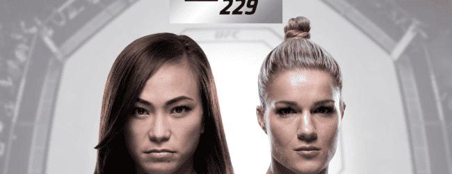 Michelle Waterson treft Felice Herrig tijdens UFC 229 in Las Vegas