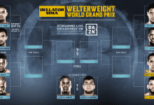 Bellator maakt Welterweight Grand Prix bracket bekend