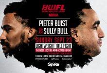 Live Uitslagen : WFL MMA 3 : Buist vs. Bull