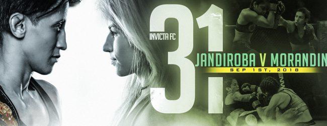Uitslagen : Invicta FC 31 : Jandiroba vs. Morandin