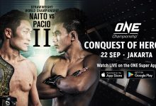 Uitslagen : ONE Championship 79 : Conquest of Heroes