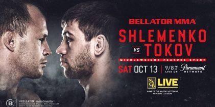 Bellator 208 voegt Alexander Shlemenko vs. Anatoly Tokov toe aan line-up