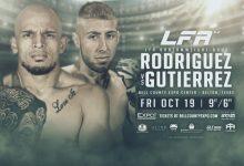 LFA 52 zal plaatsvinden in Belton, Texas met Ray Rodriguez en Chris Gutierrez als Main Event