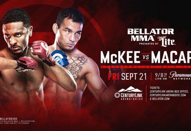 Uitslagen : Bellator 205 : McKee vs. Macapá