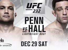 MMA Legende BJ Penn maakt opwachting tegen BJJ wizard Ryan Hall tijdens UFC 232