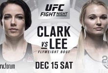Jessica-Rose Clark vs. Andrea Lee gecanceld voor UFC Milwaukee