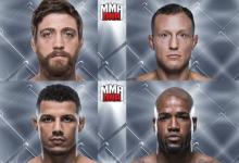 Twee nieuwe gevechten toegevoegd aan UFC on FOX 31 in Milwaukee