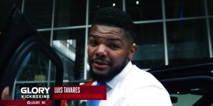 """Enfusion Champ Champ"" Luis Tavares tekent bij GLORY Kickboxing"