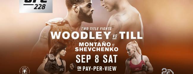Uitslagen : UFC 228 : Woodley vs. Till