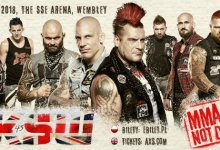 Uitslagen : KSW 45 : The Return to Wembley