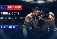 Uitslagen : PFL 2018 Playoffs : Event 1 (Featherweight & Heavyweight)