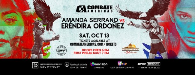 Uitslagen : Combate Americas 24 : Mexico vs. USA
