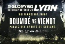 Uitslagen : GLORY 60 : Lyon