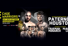 Uitslagen : Cage Warriors 98 : Paternò vs. Houston