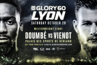 Cedric Doumbe vs Jimmy Vienot nieuw main event voor GLORY 60
