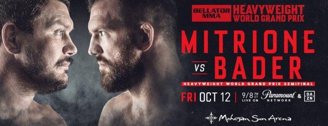 Uitslagen : Bellator 207 : Mitrione vs. Bader