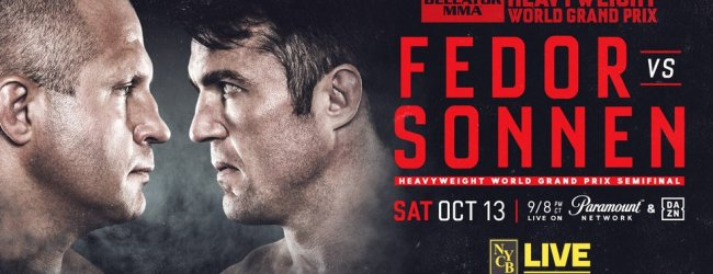 Uitslagen : Bellator 208 : Fedor vs. Sonnen