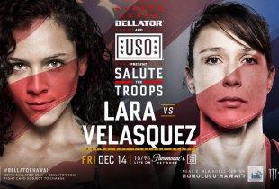 Alejandra Azul Lara vs. Juliana Velasquez toegevoegd aan Bellator 212 in Hawaii