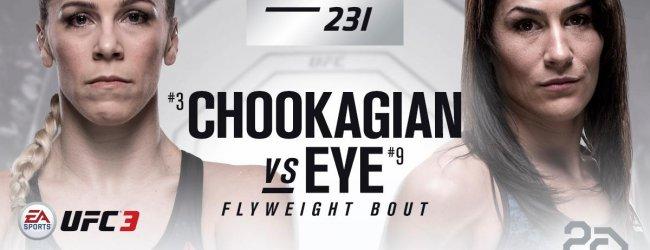 Katlyn Chookagian vs. Jessica Eye toegevoegd aan UFC 231 in Toronto