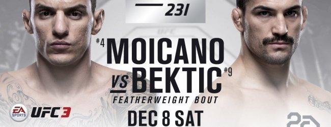 UFC 231 verliest Renato Moicano vs. Mirsad Bektic match-up