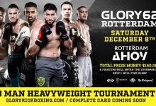 GLORY 62 Rotterdam in teken van Heavyweight Tournament en rentree Luis Tavares