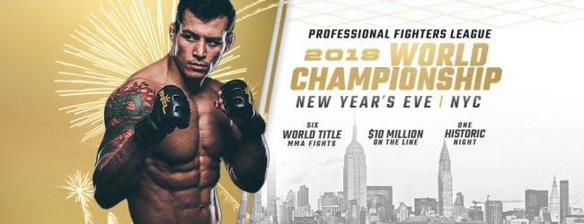 "Zes ""One Million Dollar Fights"" ProFight League op 31 December 2018"