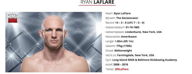 Ryan Laflare hangt handschoenen aan wilgen