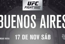 Wederom een nieuwe tegenstander voor Nad Narimani tijdens UFC Buenos Aires