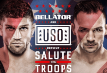 "Brent Primus vs. Michael Chandler 2 tijdens Bellator Hawaii ""tweedaagse"""