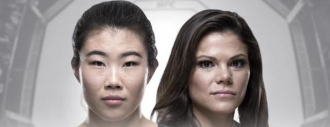 Lauren Mueller vervangt Shana Dobson tegen Wu Yanan tijdens UFC Beijing