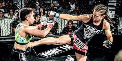 Hannah Cifers vervangt Maia Stevenson tegen Maycee Barber tijdens UFC Denver