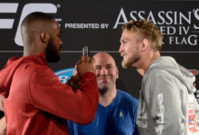Jon Jones vs. Alexander Gustafsson 2 is het Main Event voor UFC 232