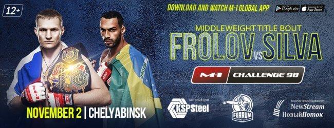 Uitslagen : M-1 Challenge 98 : Frolov vs. Silva