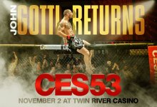 Uitslagen : CES MMA 53 : Nordby vs. Gravely