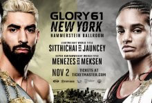 Uitslagen : GLORY 61 : New York