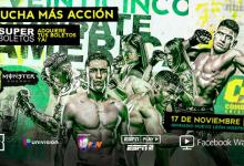 Uitslagen : Combate Americas 26 : Perez vs. Ayala