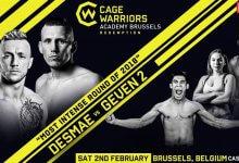 Hubert Geven vs. Donovan Desmae op herhaling in Brussel tijdens CW Academy evenement
