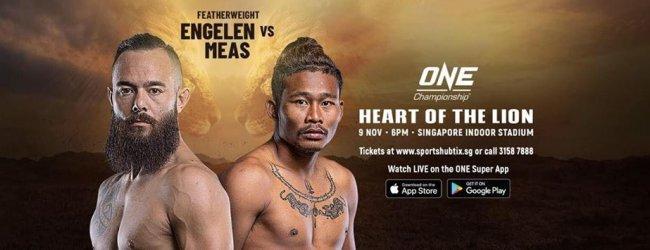 Kijk live en gratis naar gevecht van Anthony Engelen tijdens ONE: Heart of the Lion
