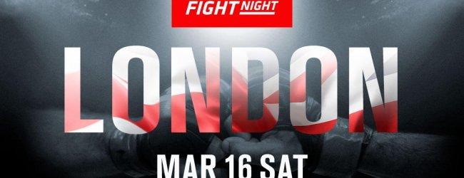 UFC keert in maart terug naar Londen